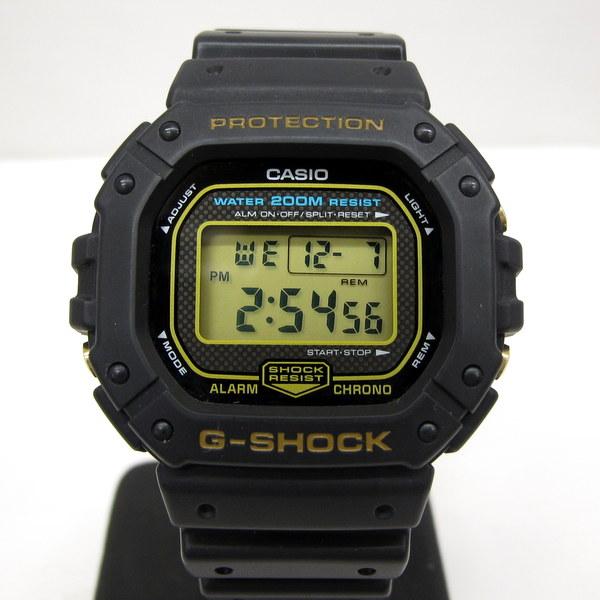 G-SHOCK ジーショック CASIO カシオ 腕時計 DW-5300G-9 スピード ブラック デジタル 海外モデル レア 希少 メンズ アラーム カレンダー T東大阪店 127971【USED】