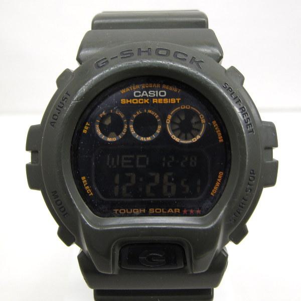 G-SHOCK ジーショック CASIO カシオ 腕時計 G-6900KG-3CR アーミーグリーン ARMY GREEN カーキ 海外モデル 三つ目 デジタル タフソーラー ミリタリー メンズ ウォッチ 樹脂バンド 三国ヶ丘店 130698【中古】