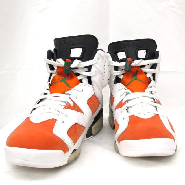 the latest 749f0 f2766 Shoes shoes men Higashiosaka store with the NIKE Nike sneakers AIR JORDAN 6  Air Jordan 6 RETRO GATORADE nostalgic Gatorade 28.5cm 384,664-145 orange  white ...