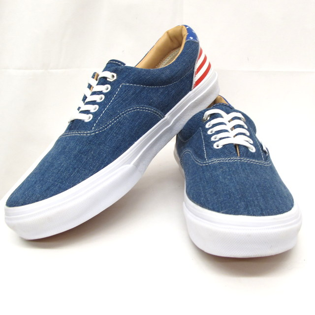 55bf351a245e5a Higashiosaka store with the VANS vans station wagons sneakers California  engineering firm denim United States national flag 28cm V95CL CB2 men shoes  shoebox
