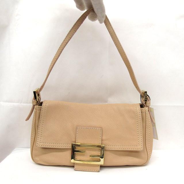 Higashiosaka 254516 Made In Fendi Bag Handbag Pink Lady Italy