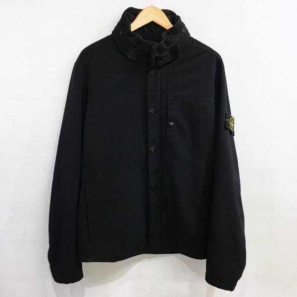 STONE ISLAND ストーンアイランド フード付ジャケット おトク ボンディング ブラック RM4993 中古 無地 メンズ 三国ケ丘店 早割クーポン IT4QA4RQFPRX
