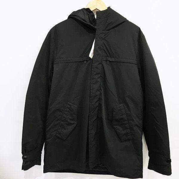 HAMAKI-HO ハマキホ ダウンジャケット 日本 ブラック 無地 新色追加して再販 RM4818 メンズ 三国ケ丘店 中古 ITLQB2WAXTL4