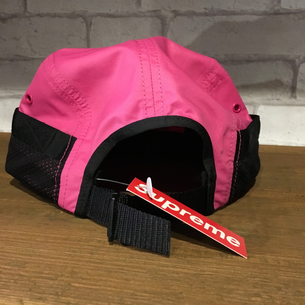 8fef5141baf supreme 16ss mesh pocket camp cap シュプリームメッシュポケットキャンプキャップ box logo box logo  adjustable size pink 5 panel cap jet cap usedmarcket NEXT51 ...