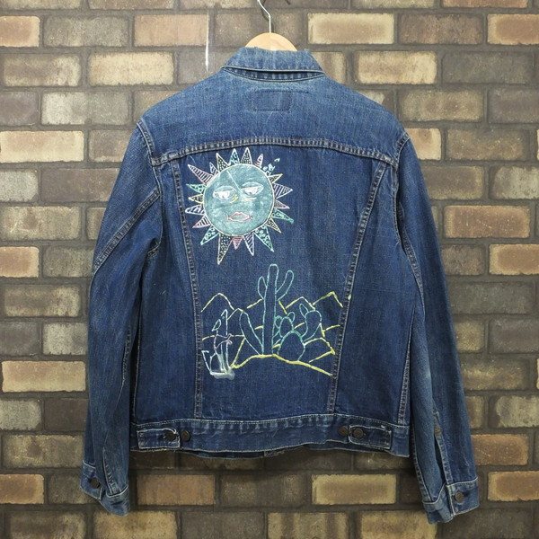 Next51 Levis Levis 70505 Trucker Jacket Big E Unequal V Vintage