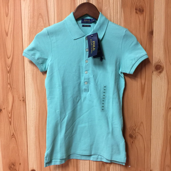7d3bf830d POLO RALPH LAUREN polo Ralph Lauren short sleeves polo shirt tops pastel  green Lady s Small pony XS size secondhand clothes store NEXT shell mound  store ...