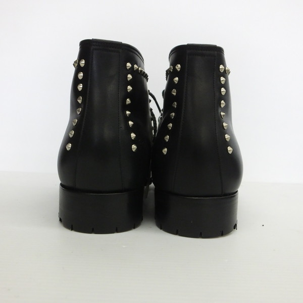 Men Mikunigaoka 608046 Rm0686 With Bright Things Blight Studs Office Boots Shoes Black