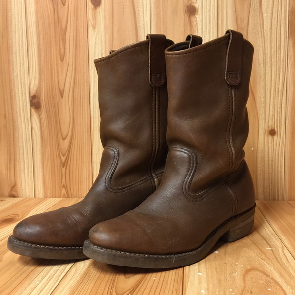 a4e6b69a20e REDWING red wing pekoe boots 1155 25306 white tag 90S PECOS men leather USA  shoes shoes secondhand clothes store NEXT shell mound store RK9069