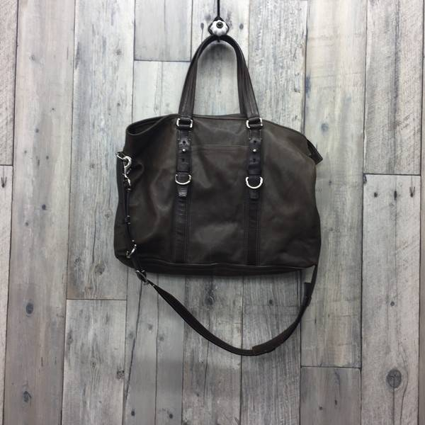 9bb86f5be634 COACH coach Harrison yeast waist 70256 bag bag tote bag handbag men brown  shoulder secondhand clothes store NEXT shell mound store RK422A