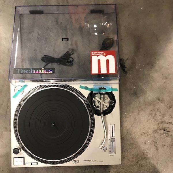 Technics テクニクス SL-1200MK3D シルバー ターンテーブル レコードプレーヤー DJ アナログ オーディオ機器 メンテナンス済み 51N【Cランク】RM209E