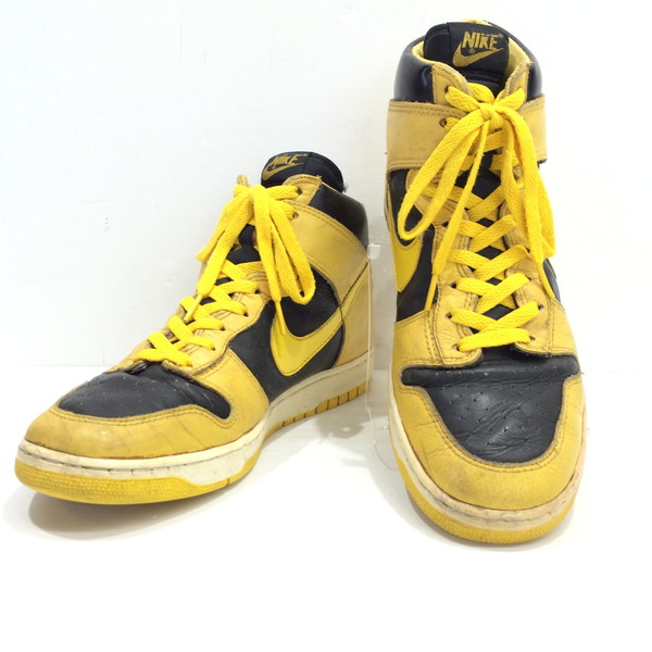 ea6cd336a927 Yellow black men Mikunigaoka store AG 623652RM1530 for the vintage  admiration original for NIKE DUNK Nike dunk basketball shoes sneakers shoes  Michigan 80s