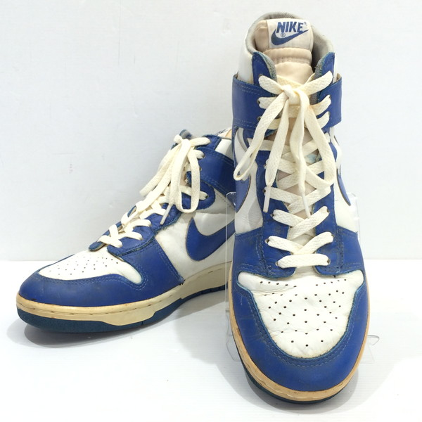 43c41b1e409c Blue white men Mikunigaoka store AG 623669RM1529 for the vintage admiration  original for NIKE DUNK Nike dunk basketball shoes sneakers shoes Kentucky  80s