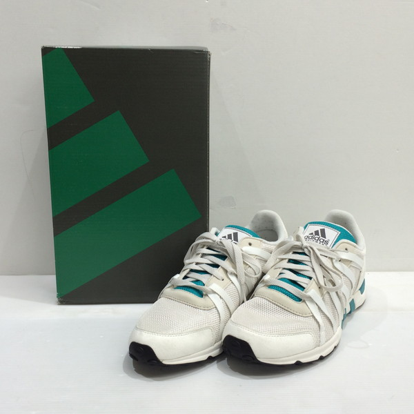 reputable site b05ff fb86c adidas Adidas EQT RACING 93 エキップメントレーシング Equipment sneakers shoes shoes  shoes green 26.5cm men's Mikunigaoka shop AG 709677RM1502