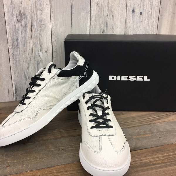 02c778a150b97f DIESEl diesel sneakers shoes shoes 17FW S-STUDSHEAN white white 28cm men s  secondhand clothes store NEXT shell mound store RK3055M