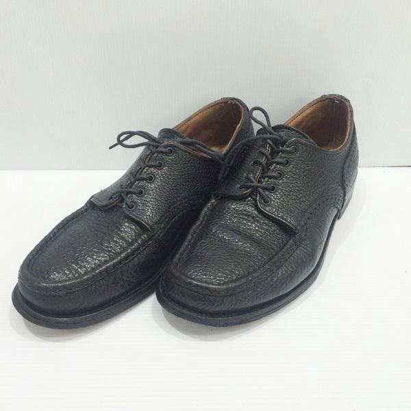 Russell Moccasin ラッセルモカシン 靴 革靴 2601 レザーシューズ ブラック 黒 メンズ 紳士 MADE IN USA アメリカ製 8 1/2D 三国ヶ丘店 755643 【中古】 RM1734