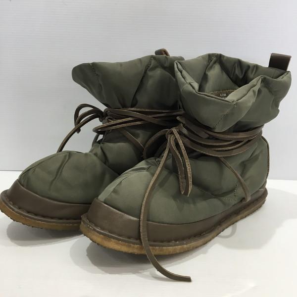 a66132fb4f2 CABANE de zucca ズッカダウンブーツミドルブーツ AJ256 shoes shoes leather strap olive brown  men ...