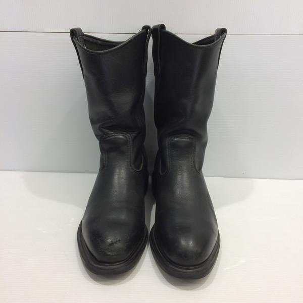 RedWing レッドウィング 2253 ペコスブーツ スーパーソール ブラック 黒 7.5D ブーツ 靴 レザー 皮革 メンズ 三国ヶ丘店 611253 【中古】 RM2073