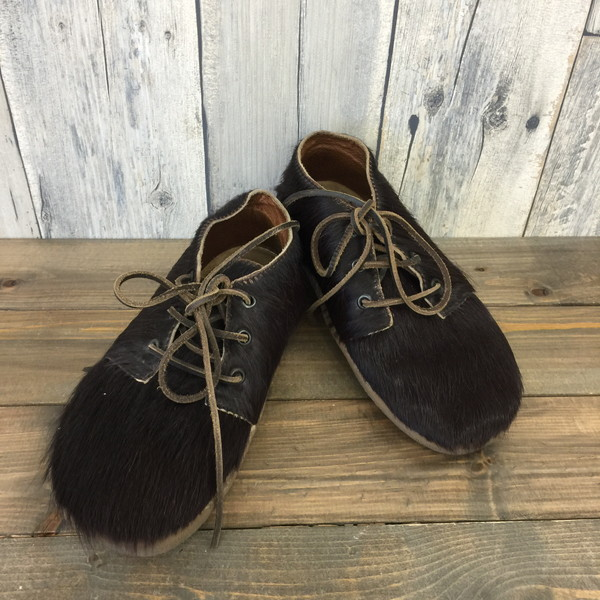 4aac881251b BOSABO ボサボ shoes shoes shoes shoes hair American casual Lady's 24 brown  dark brown secondhand clothes ...