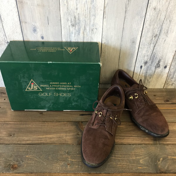 6addb3136d1 J'S Jays suede cloth golf shoes brown men shoes shoes shoes shoes sports  25.5 secondhand clothes ...