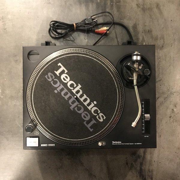 Technics テクニクス SL-1200MK3 ブラック 黒 ターンテーブル レコードプレーヤー DJ アナログ オーディオ機器 メンテナンス済み 51N【Cランク】RM219E