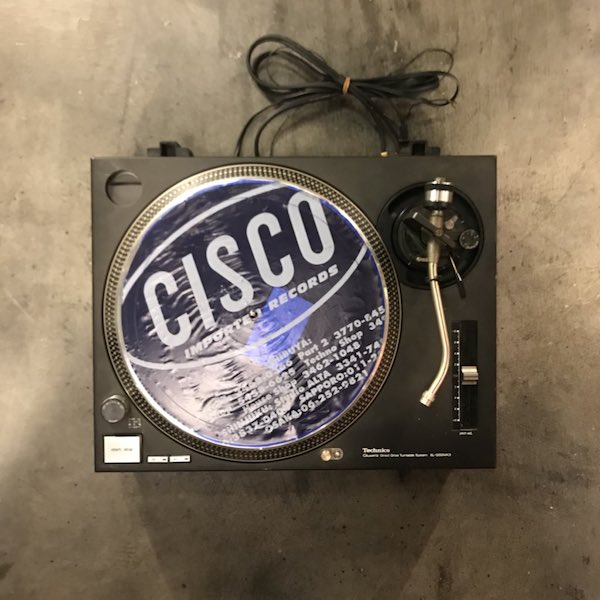Technics テクニクス SL-1200MK3 ブラック 黒 ターンテーブル レコードプレーヤー DJ アナログ オーディオ機器 メンテナンス済み 51N【Cランク】RM220E