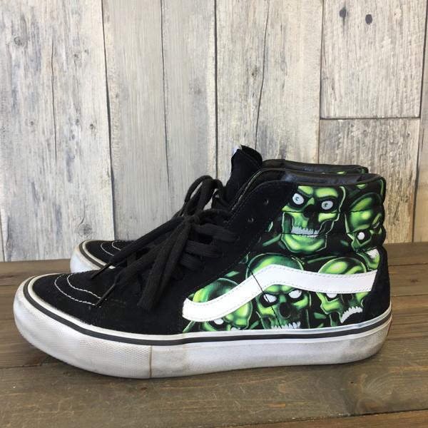 0b08b42341 Supreme シュプリーム Supreme x VANS shoes sneakers shoes higher frequency  elimination Skull Pile Sk8-Hi マルチカラースケハイスカルブラック 2018SS 28cm men s ...