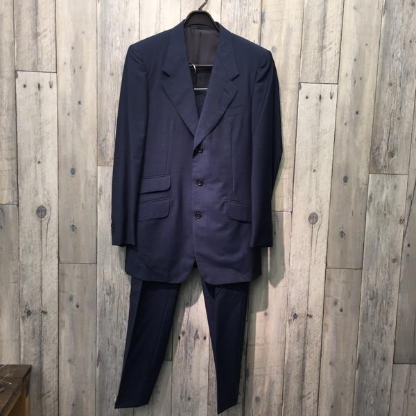 GUCCI グッチ メンズ スーツ フォーマル 結婚式 上下セット ネイビー ブランド 古着屋NEXT貝塚店【USED】RK1980A