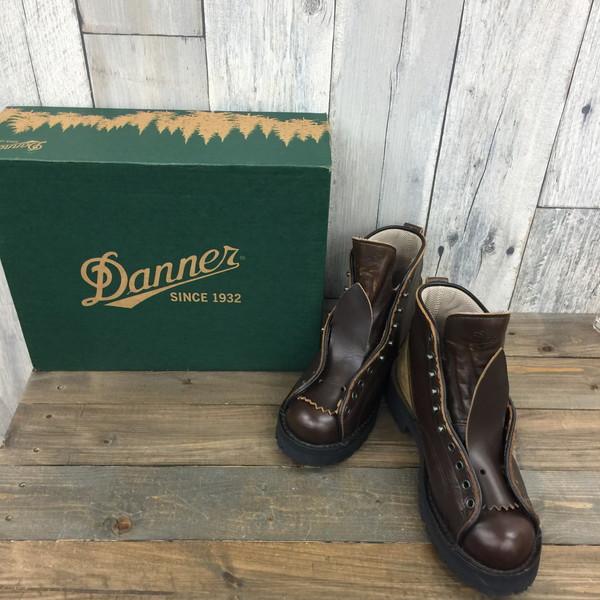 DANNER ダナー WOODS MAN 32206 LEATHER ブラウン ブーツ 靴 くつ クツ 古着屋NEXT貝塚店【中古】RK1965A