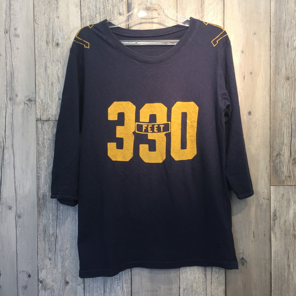 6f87a4003 Lady's secondhand clothes store NEXT shell mound store RK4595M made in  KAPITAL capital T-cloth divers football T-shirt three-quarter sleeves tops  ...