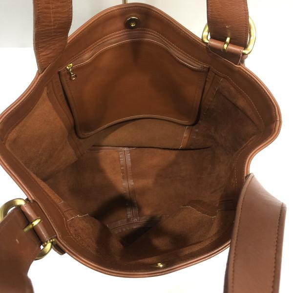 Coach Tote Bag Shoulder 4082 Glove Leather Old Brown Lady S Mikunigaoka 079953 Rmb760