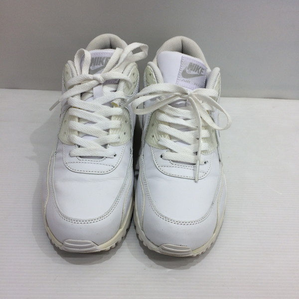 Men gap Dis Mikunigaoka shop 081512 RM9T which there is NIKE Nike AIR MAX 90 LEATHER sneakers shoes 26cm white white box in