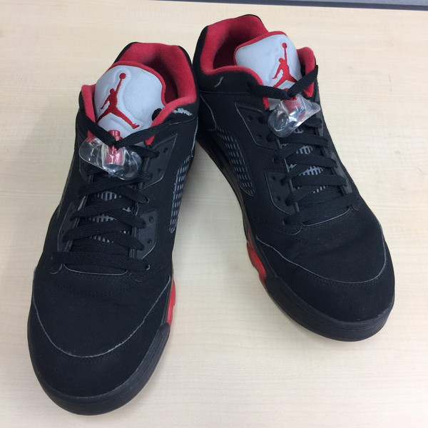 NIKE ナイキ AIR JORDAN 5 RETRO LOW 28.5 ブラック ストリート メンズ スニーカー シューズ 靴 クツ くつ 古着屋NEXT貝塚店【USED】RK2142A