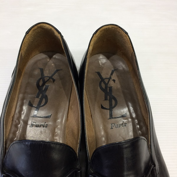 f89405fde99 NEXT51: 26 YVES SAINT LAURENT Yves Saint-Laurent loafer tassel loafer shoes  black men Mikunigaoka store 042735 RM182T | Rakuten Global Market