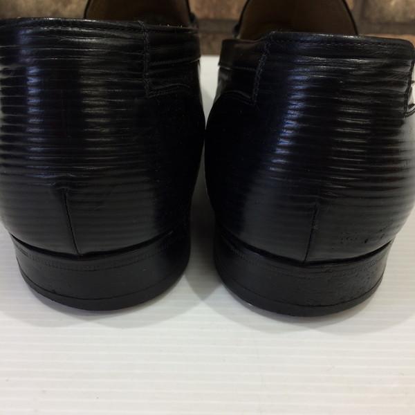 4c7c80012 NEXT51: YVES SAINT LAURENT Yves圣罗兰低毛皮流苏低毛皮鞋黑色人26 ...