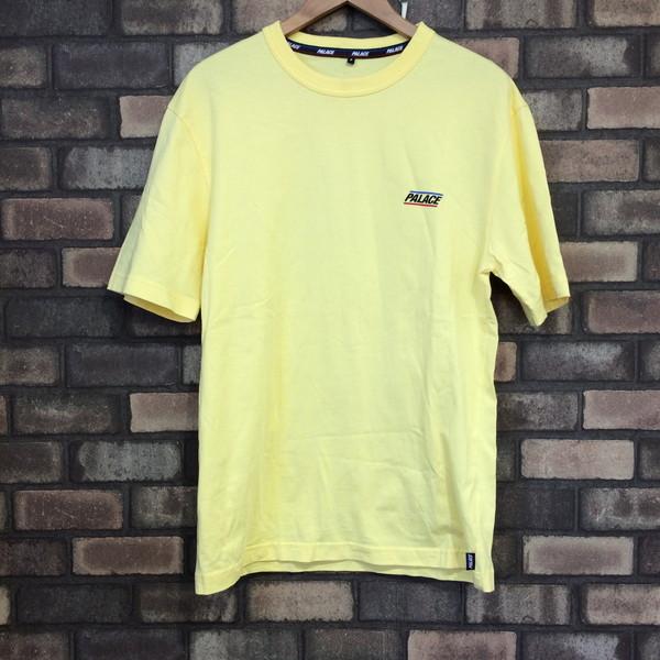 c5984cda1ea5 Mikunigaoka shop 086302 RM187T made in Palace palace T-shirt tops short  sleeves yellow one point men S Vietnam
