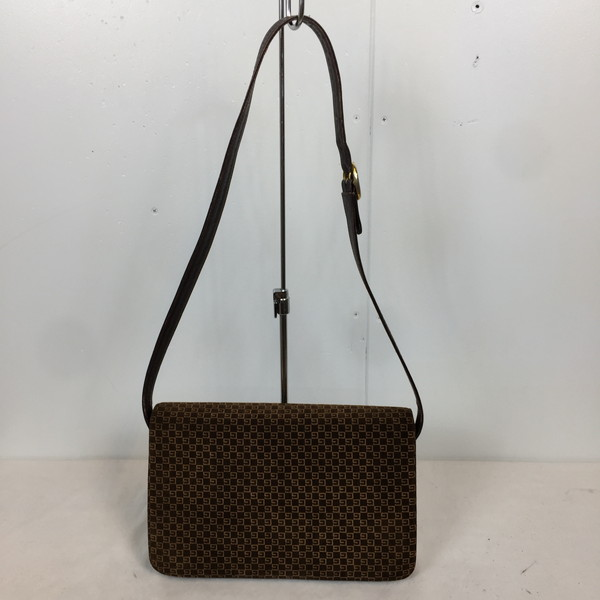34207cccf8d Shell mound store 618641 RK2257A for GUCCI Gucci shoulder bag 70s made in  OLD GUCCI old Gucci square G suede cloth rare rare brown whole pattern  Lady s ...