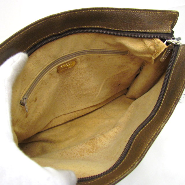 4ff57a97d34 Higashiosaka shop 283967 RYB0131 made in GUCCI Gucci old Gucci clutch bag  beige brown GG plus vintage men gap Dis bag bag Italy