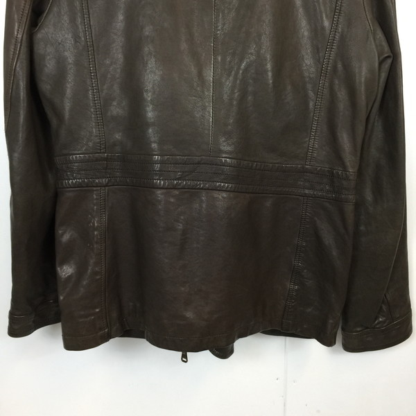 1948ca373 ... Shell mound store 487862 RK2377A made in 38 HUGO BOSS Hugo Boss leather  coat 0010016526 jacket ...