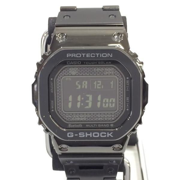 G-SHOCK ジーショック 腕時計 GMW-B5000GD-1JF CASIO カシオ フルメタル タフソーラー デジタル Bluetooth搭載 スクエア ブラック メンズ 三国ヶ丘店 209916 【Aランク】 【中古】 RM3028