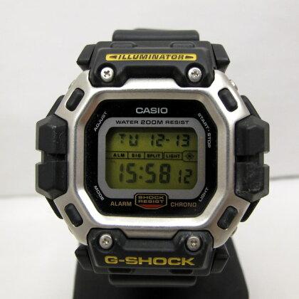 G-SHOCK ジーショック CASIO カシオ 腕時計 DW-8300G-1V インラインホッキー ガンダム 2代目 海外モデル デジタル ブラック メンズ カレンダー クォーツ T東大阪店 133637【中古】 RY0515