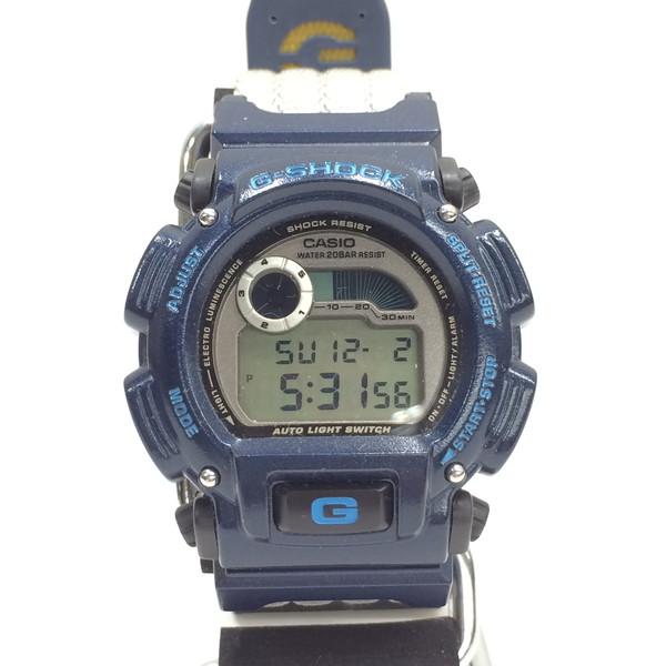 G-SHOCK ジーショック 腕時計 DW-9000AS-2T CASIO カシオ Triple Crown トリプルクラウン 限定記念モデル デジタル ネイビー メンズ サーフィン 三国ヶ丘店 547866 【中古】 RM3043