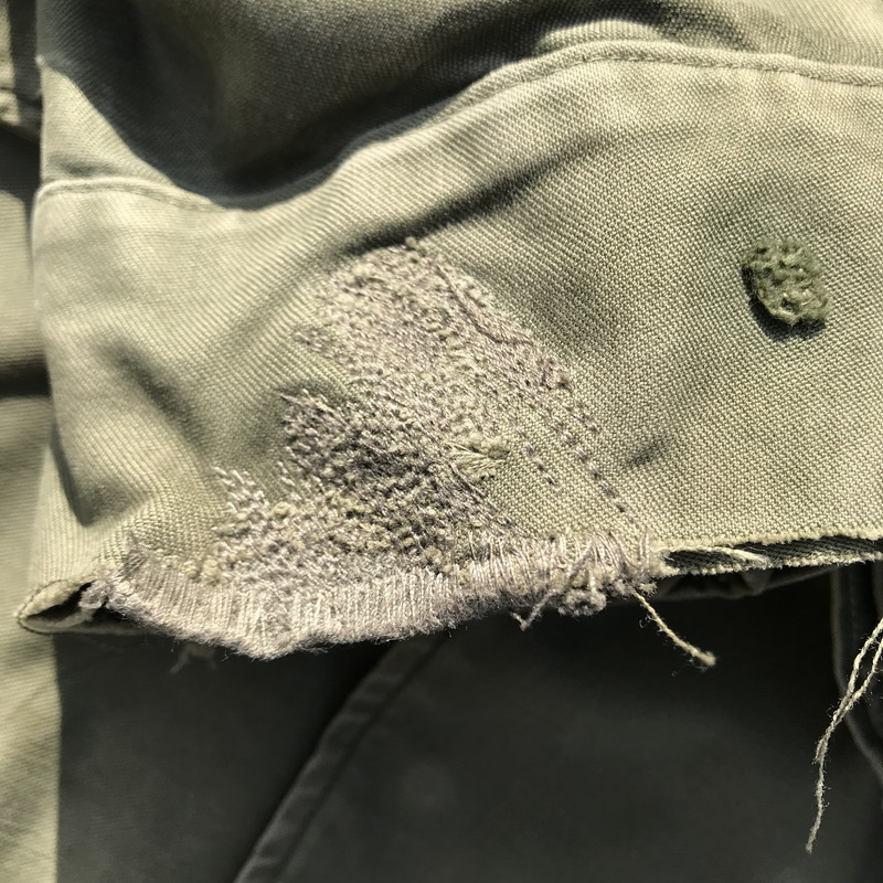 The third armored division U S  forces khaki men SMALL SHORT vintage  Mikunigaoka store 207424 RM738H with U S ARMY UNKNOWN 50's M-51 field  jacket