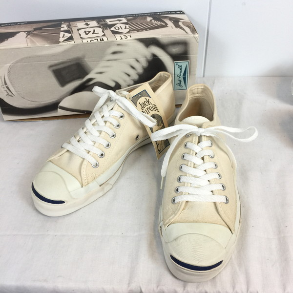50500fa4cae1 Vintage shell mound store 491524 RK105HI product made in 8 JACK PURCELL  DEAD STOCK dead stock white men United States-free for converse Converse 90s