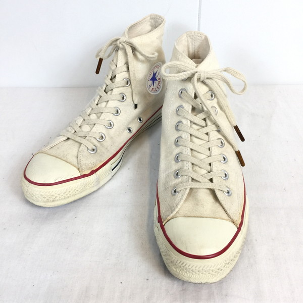 f5bc90c9f702 Vintage shell mound store 493764 RK255G made in the canvas men gap Dis  unisex US7 25cm United States for CONVERSE Converse 90s made in ALL STAR HI  USA