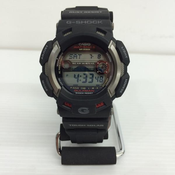 CASIO カシオ G-SHOCK GULFMAN ガルフマン GW-9110-1JF 腕時計 ブラック メンズ 三国ヶ丘店 228214 【中古】 RM3097