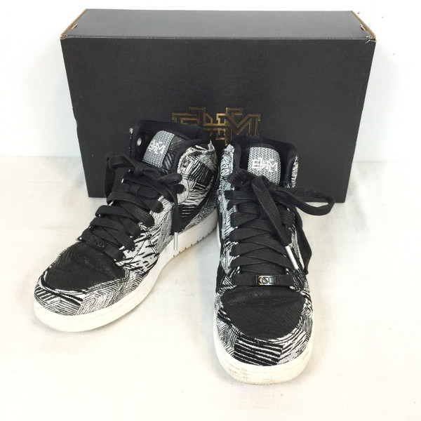 wholesale dealer c629a 3bc03 NIKE Nike AIR JORDAN 1 RETRO HIGH BHM GG 739,640-110 shoes shoes shoes  shoes sneakers white white black black Lady's 24cm shell mound store 517835  ...