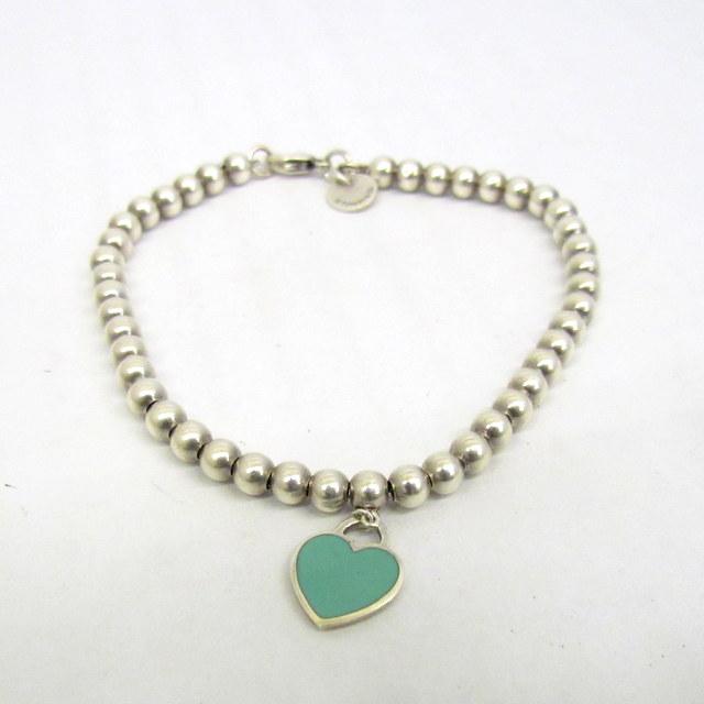 2704cd4f8 NEXT51: Tiffany & Co. Tiffany bracelet silver 925 heart charm Lady's  accessories Higashiosaka store 293478 RYB0919 | Rakuten Global Market