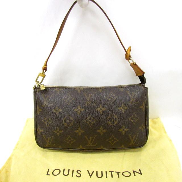 01604822d8b1 LOUIS VUITTON ルイヴィトン ハンドバッグ バッグインバッグ モノグラム ポシェット アクセソワール M51980 レディース 鞄 かばん