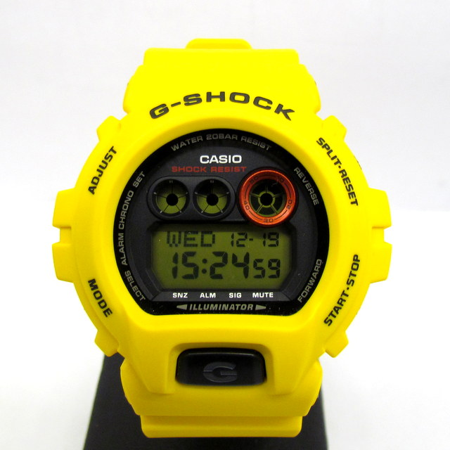 G-SHOCK ジーショック CASIO カシオ 腕時計 30周年記念モデル 限定 30th Anniversary GD-X6930E BIG CASE ライトニングイエロー Lightning Yellow 20気圧防水 デジタル メンズ レディース T東大阪店 124321【中古】 RY0654