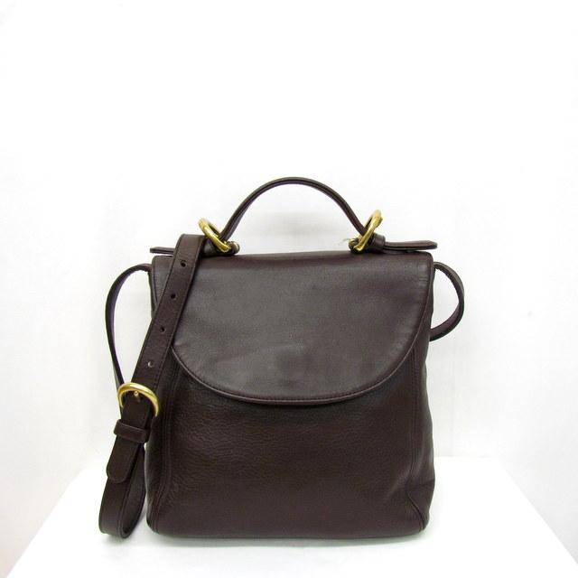 c76a31e0673d NEXT51  Take COACH coach handbag shoulder bag sling bag crossbody 2WAY  slant  brown 4158 leather bag bag Lady s Higashiosaka store 294253 RYB1022